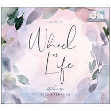 Wheel of Life 2021 Wall Calendar WCA58366