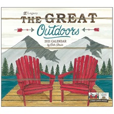 The Great Outdoors 2021 Wall Calendar WCA59363