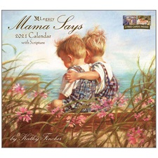 Mama Says 2021 Wall Calendar WCA59638
