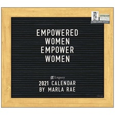 Empowered Women 2021 Wall Calendar WCA60012