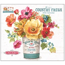 Country Fresh 2021 Wall Calendar WCA60390