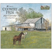 Country Path 2021 Wall Calendar WCA60505