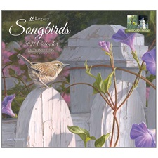 Songbirds 2021 Wall Calendar WCA60621